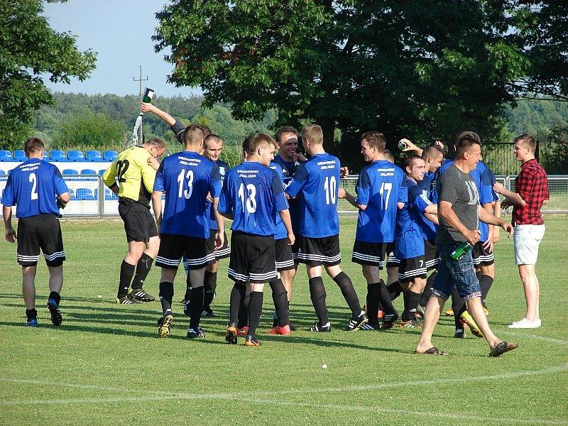 piłka nożna, Drogowiec Jedlińsk awansował do Campeon.pl Klasy Okręgowej