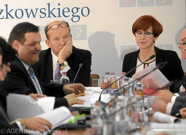 19.01.2017 Warszawa. Posiedzenie plenarne Rady Dialogu Społecznego