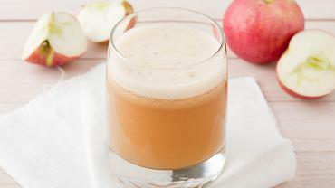 Sok jabłkowy to samo zdrowie.