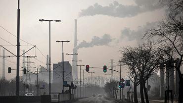 Smog nad Gdańskiem (zdjęcie ilustracyjne)