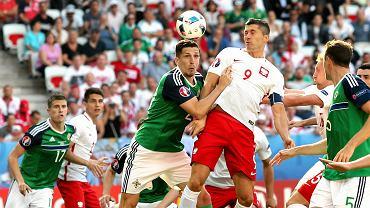 Mecz Polska-Irlandia Północna (1:0) w Nicei