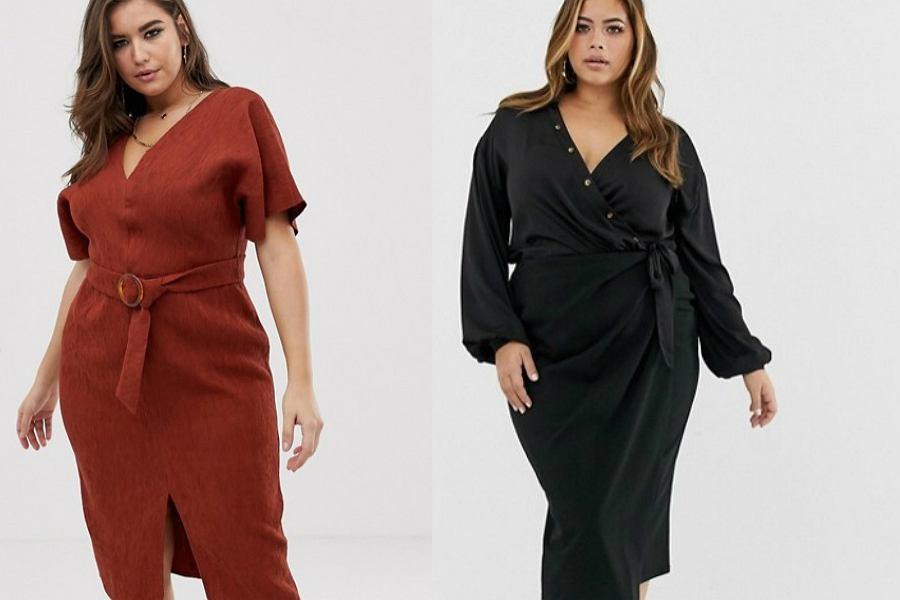 Sukienki koktajlowe plus size
