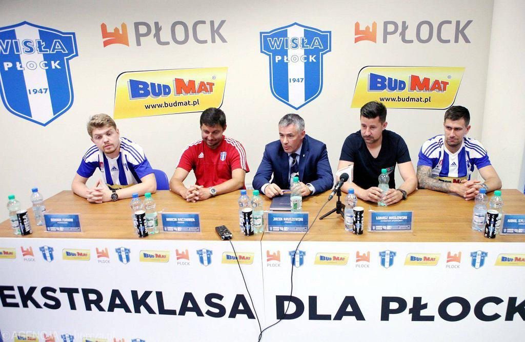 Konferencja prasowa Wisły Płock