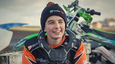 Mateusz Jabłoński, 15-letni zawodnik Aforti Startu Gniezno