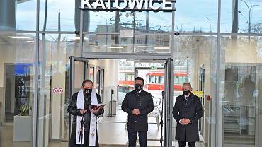 Otwarcie centrum przesiadkowego w Zawodziu w Katowicach