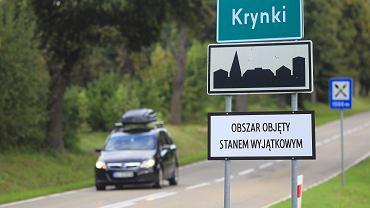 Obszar objęty stanem wyjątkowym (zdjęcie ilustracyjne)
