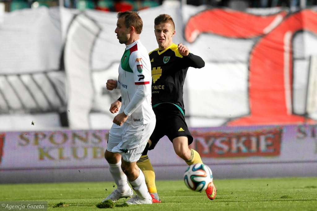Zagłębie Sosnowiec - GKS Katowice 2:1. Krzysztof Markowski