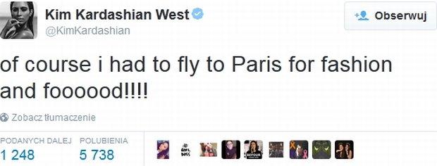 Tweet Kim Kardashian