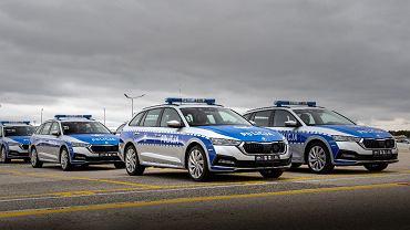 Skoda Octavia iV w służbie polskiej policji