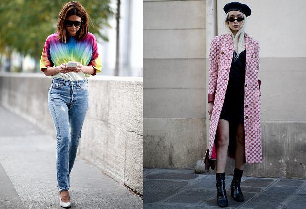 Trendy z lat 90. wracają: koszulka tie-dye i styl grunge'owy