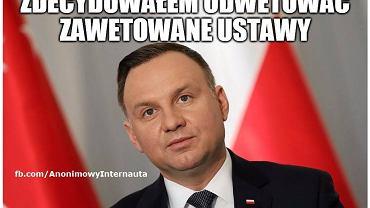 Andrzej Duda chciał zmienić konstytucję