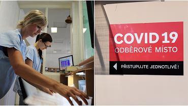 Koronawirus w Czechach. Bezpłatne testy antygenowe - na zdj. szpital w Trutnovie i Szpital Miejski im. Masaryka w Jilemnicach