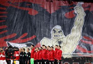 Zaczęli grać hymn Polski, wtedy do akcji wkroczyli Albańczycy. Przeraźliwe