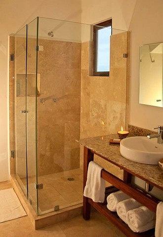 Rezydencja Kory w Meksyku, łazienka