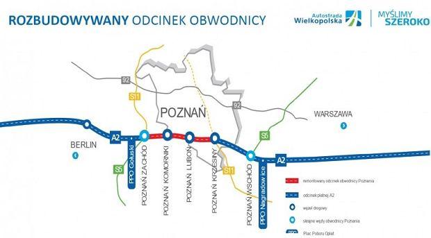 Rozbudowa A2 w Poznaniu