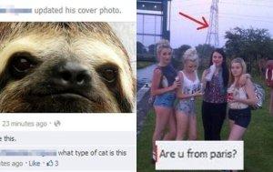 Facebookowe gafy zwykłych ludzi