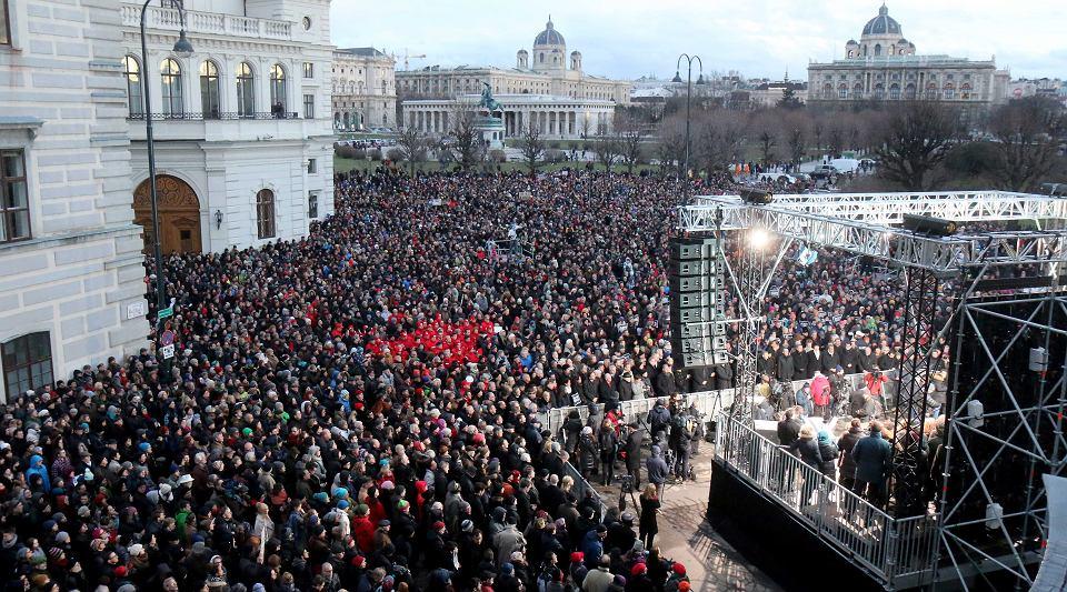 Marsz jedności w Paryżu