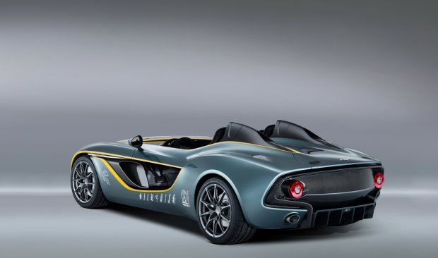 Bolid na 100-lecie Astona Martina, Aston Martin CC100, samochody