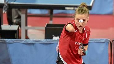 Natalia Partyka podczas mistrzostw Polski w Częstochowie w 2017 r.