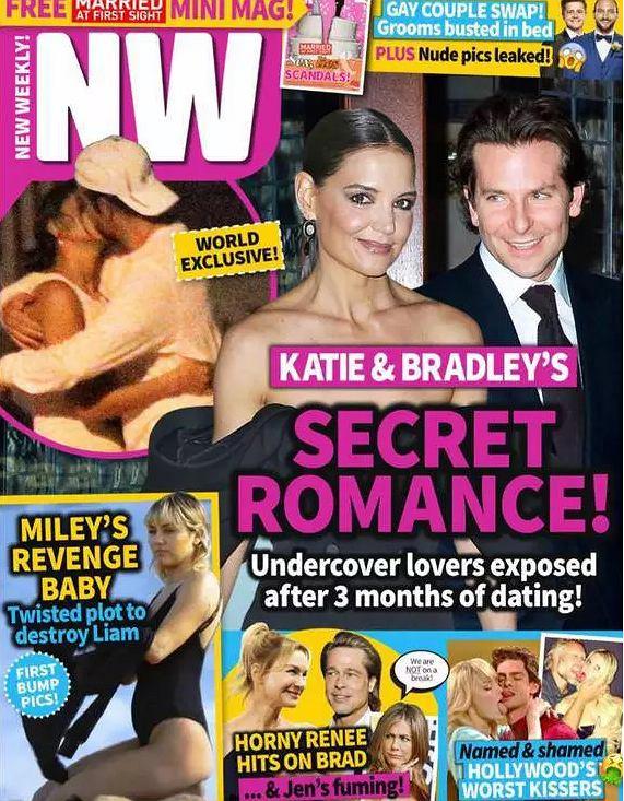 Bradley Cooper i Katie Holmes