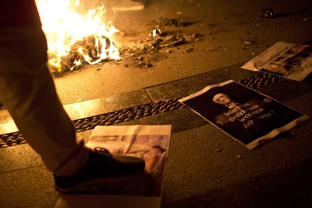 Prorządowe protesty w Turcji