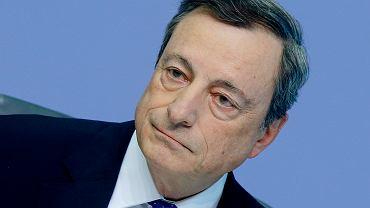 Mario Draghi, szef Europejskiego Banku Centralnego