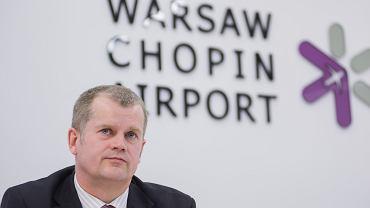 Prezes PPL i dyrektor Lotniska Chopina Mariusz Szpikowski