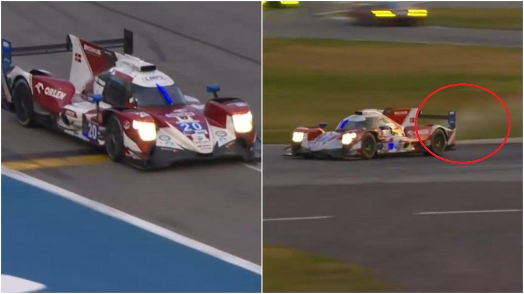 High Class Racing wycofało się z Daytona 24h po awarii skrzyni biegów