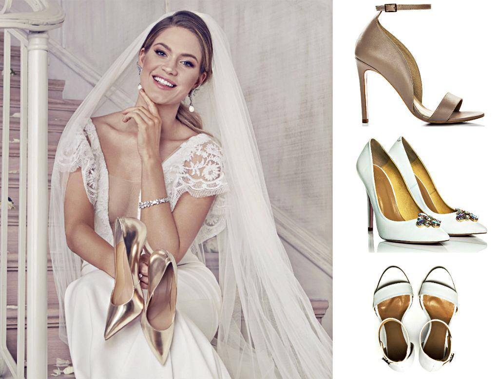 Zosia Ślotała reklamuje kolekcję ślubnych butów Yes I Do