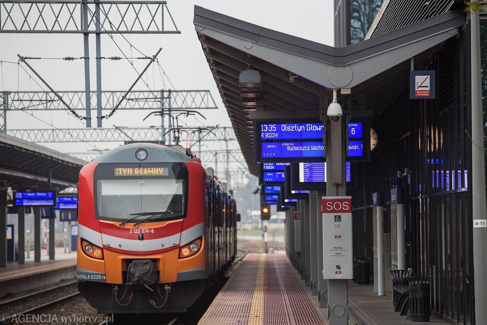 Dworzec Bydgoszcz Główna.