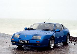 Szalone lata 80.   Renault Alpine