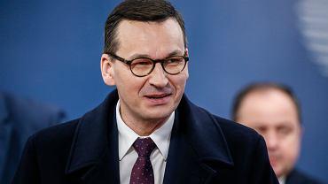 Mateusz Morawiecki na nadzwyczajnym szczycie w sprawie budżetu UE