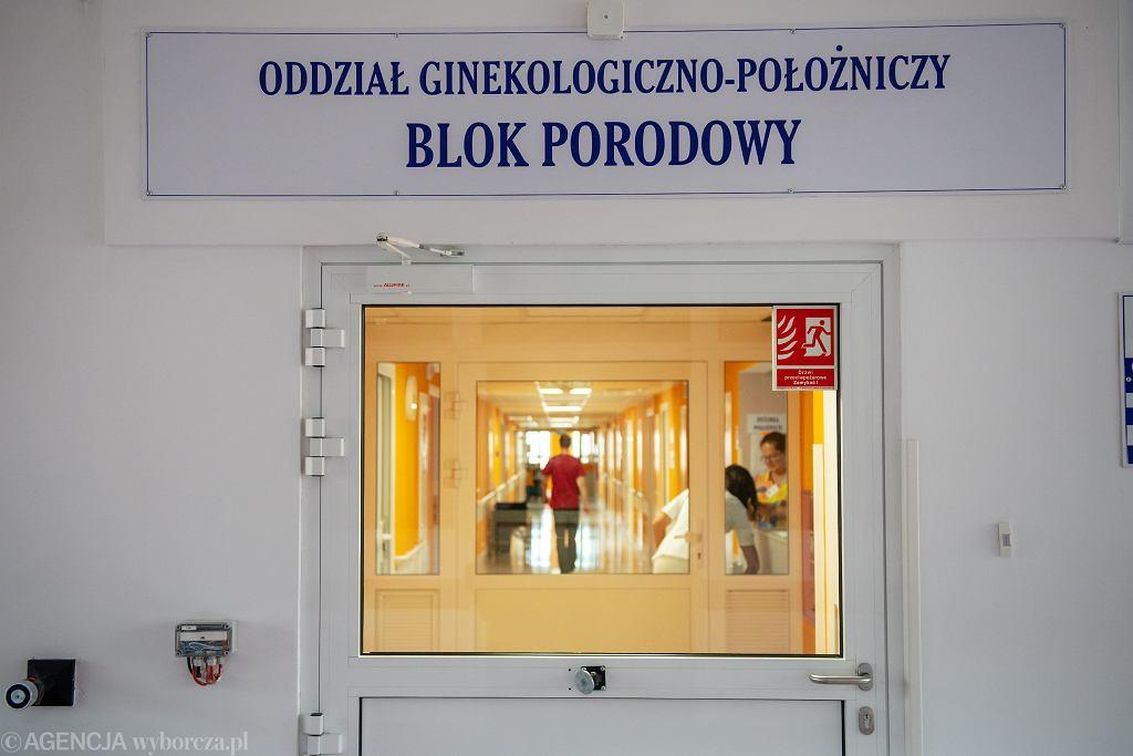 Porodówka w Wojewódzkim Szpitalu Specjalistycznym w Olsztynie, 5 października 2018