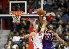 NBA. Zbiórki Marcina Gortata nie pomogły. Washington Wizards przegrali z Phoenix Suns