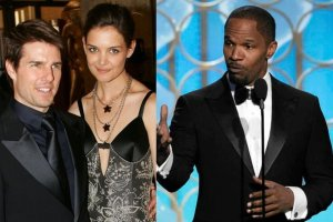 Tom Cruise, Katie Holmes, Jamie Foxx