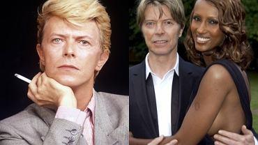 David Bowie z żoną Iman