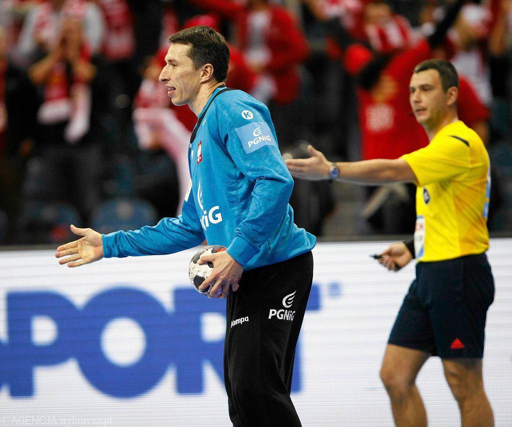 Tauron Arena Kraków. Mistrzostwa Europy w piłce ręcznej, mecz Polska - Serbia (29:28). Sławomir Szmal