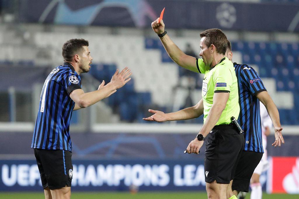 Czerwona kartka dla Freulera. Kluczowy moment meczu Atalanta - Real Madryt