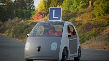 Trudno zostać kierowcą samochodu Google