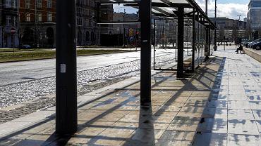 Katowice w czasie pandemii koronawirusa