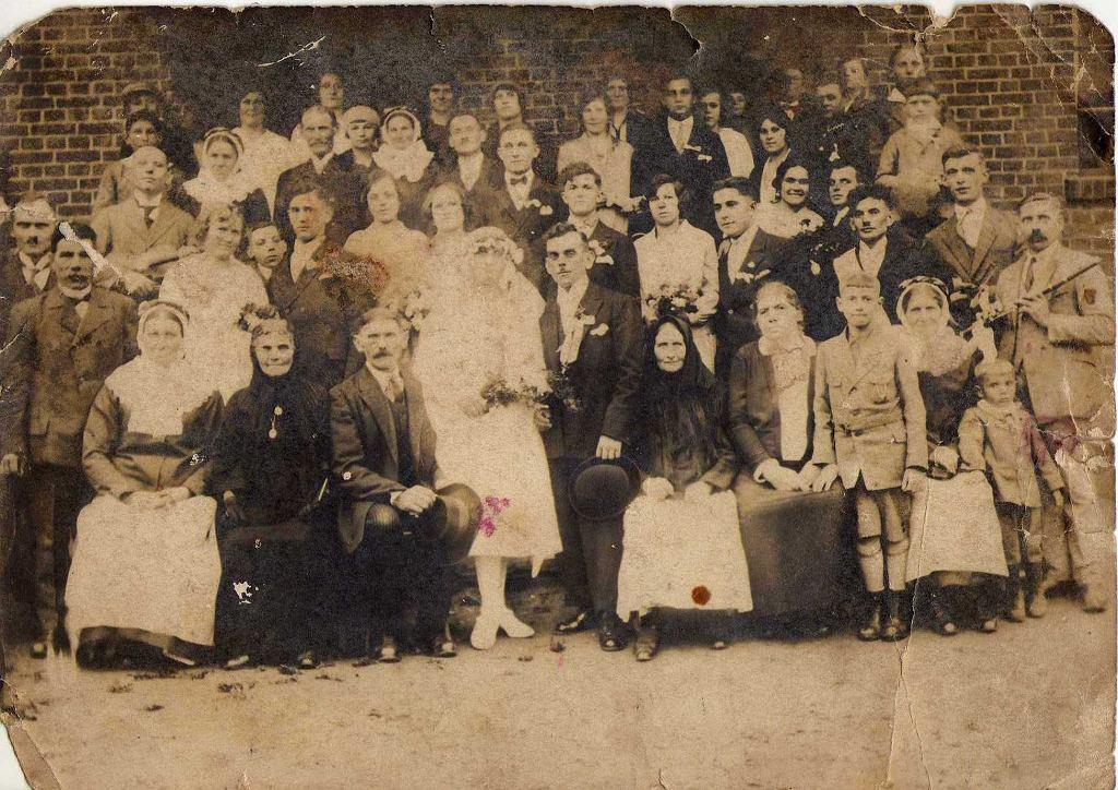 Wesele w rodzinie Nowaków, 1928 rok