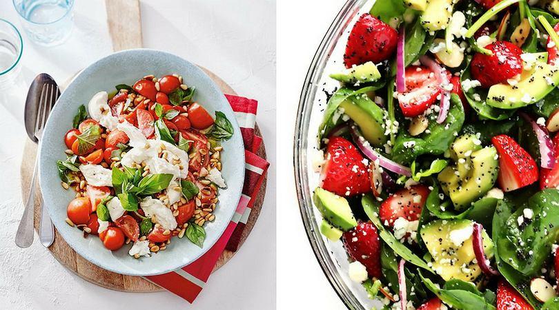 Najlepsze przepisy na sałatki ze świeżych warzyw i owoców