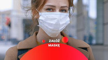 Noszenie maski może uchronić przed infekcją