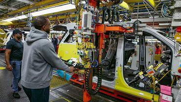 Chevrolet Tahoe w fabryce  GM w Arlington