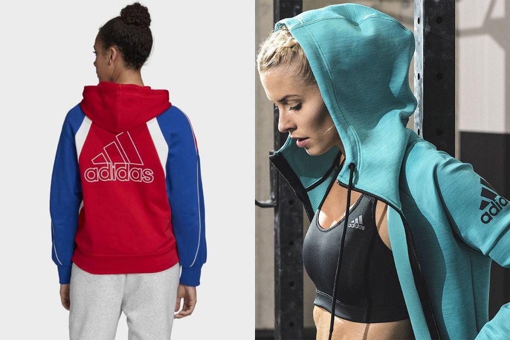 bluza Adidas rozpinana
