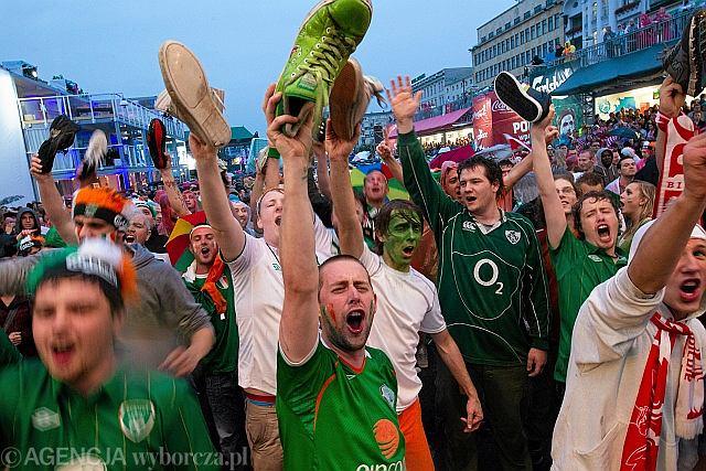 Kibice reprezentacji Irlandii