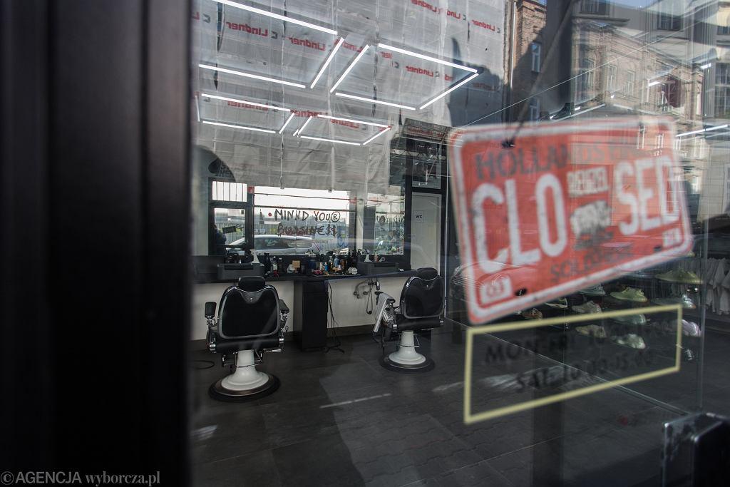 Lokale zamknięte w związku z epidemią koronawirusa.