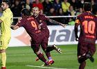 La Liga. Barcelona wygrała z Villarrealem, który grał w dziesiątkę