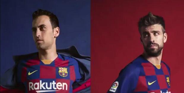 cbc26926b3be78 FC Barcelona zaprezentowała nowe stroje. Zagrają w takich po raz ...