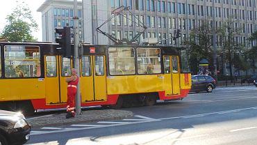 Wypadek tramwajowy na Marszałkowskiej przy Żurawiej